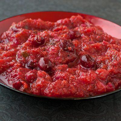 Cranberry Jalapeno Persimmon Chutney
