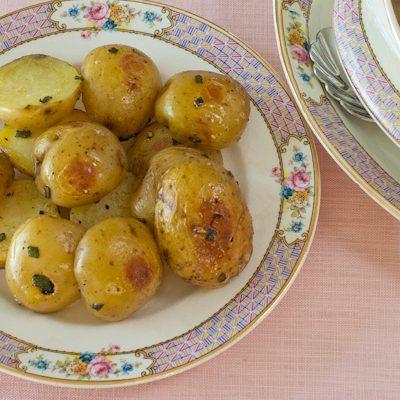 Sage Roasted Baby Potatoes