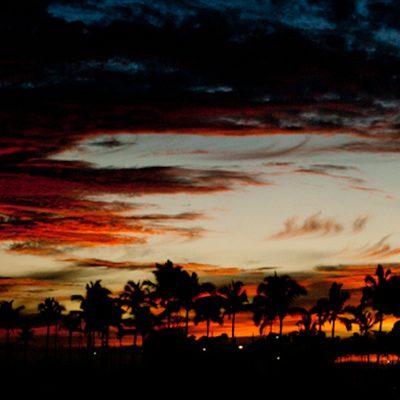 Last Sunset at Hawai'i Food and Wine Festival 2011