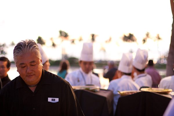 Chef at Hawai'i Food and Wine Festival 2011