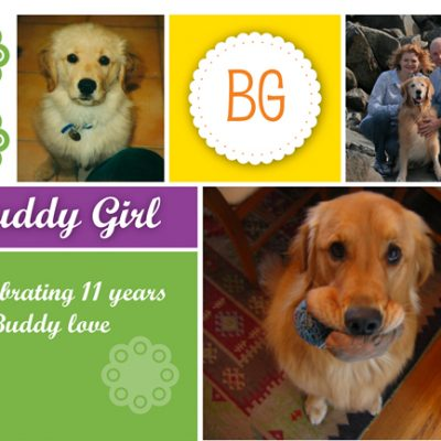 Celebrating Buddy Girl