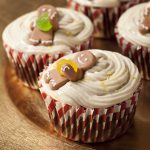 Gingerbread Cupcakes with ginger-lemon frosting
