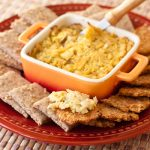 Caramelized Onion and Artichoke Onion Dip | Vegan | Gluten-free