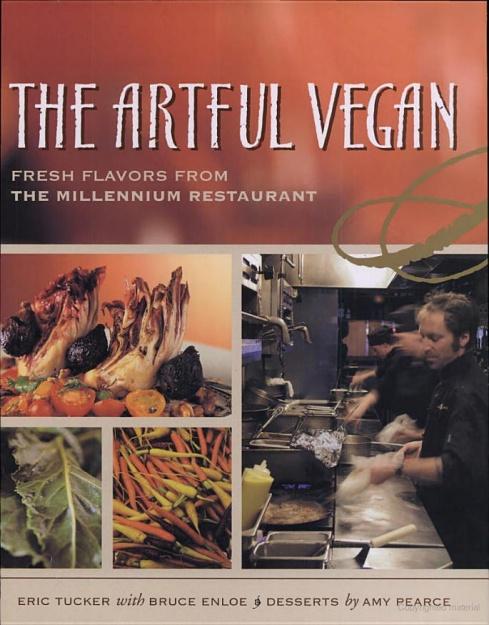 The Artful Vegan cookbook