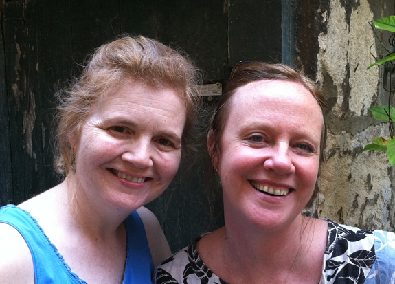 With food blogger Angela in France