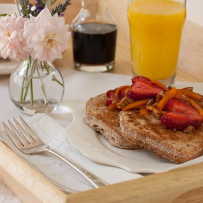 French Toast | Egg- & Dairy-free | Recipe Renovator