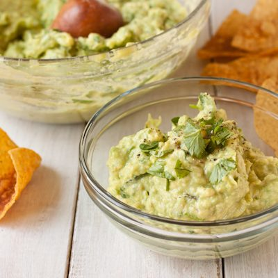 Easy, perfect guacamole