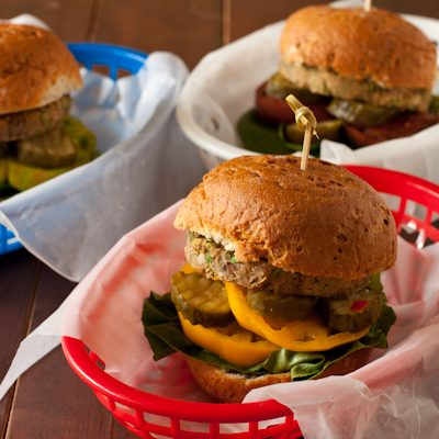 Burgers for Memorial Day from Recipe Renovator