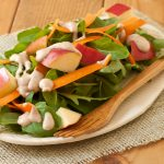 Arugula-Apple Salad with Walnut-Miso Dressing | Recipe Renovator