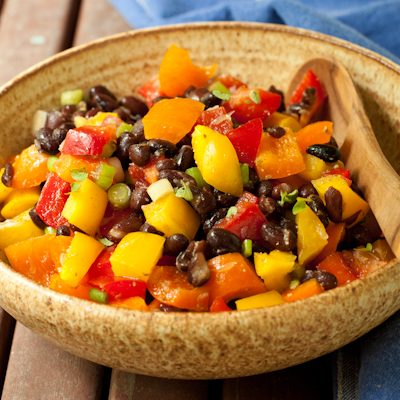Black Bean Salad from Campfire Cuisine   review by Recipe Renovator