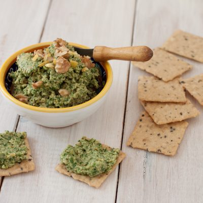 Curried Cilantro-Lemon Pesto from Recipe Renovator