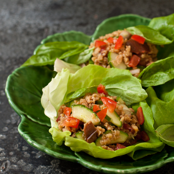 Thai Lettuce Cups from Recipe Renovator, inspired by a Cooking Light recipe