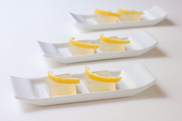 Lemon Drop Jello Squares | Vegan | Recipe Renovator