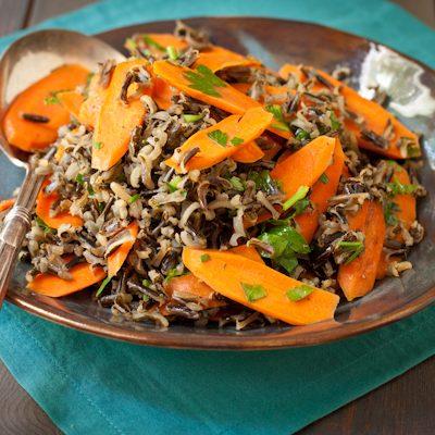 Wild Rice and Carrots   A Cooking LIght recipe renovation   Recipe Renovator