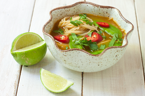 Asian Noodle Soup   Fresh 20 Cookbook review on Recipe Renovator