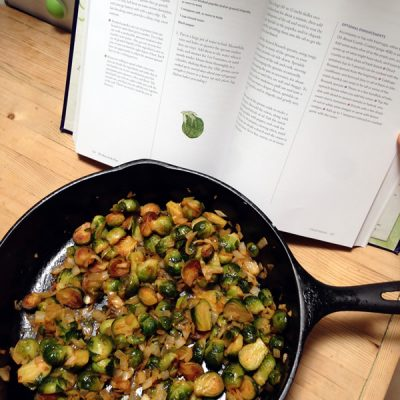 Brussels sprouts from Heart of the Plate cookbook review by Mollie Katzen | Recipe Renovator