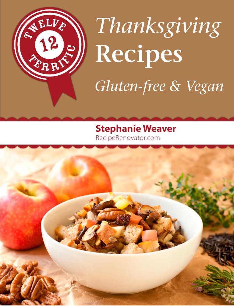 12 Terrific ThanksgivingRecipes | ebook from Recipe Renovator