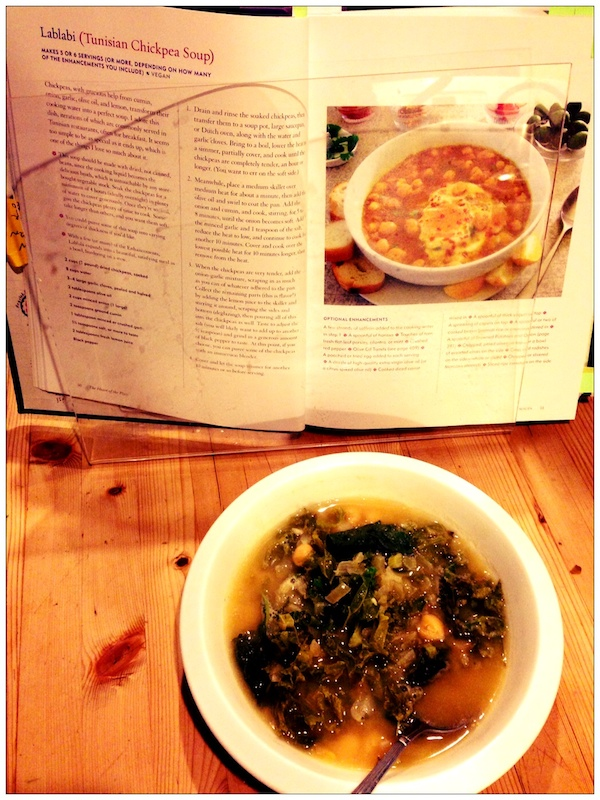 Lablabi Tunisian chickpea soup from Heart of the Plate review | Recipe Renovator