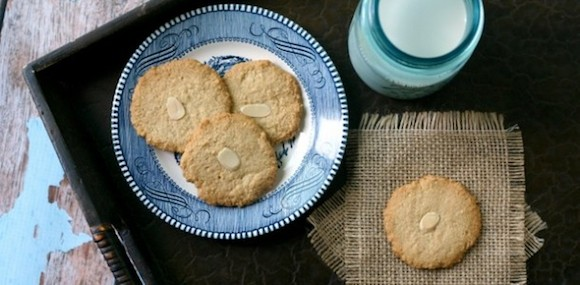 Almond cookies from Everyday Maven | Month O' Cookies on Recipe Renovator