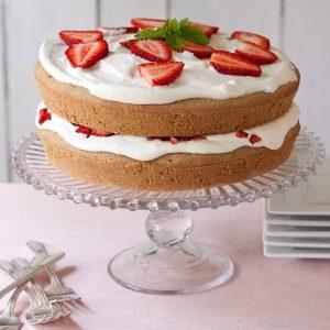 Summer Celebration Cake | Gluten-free, grain-free, paleo, migraine-friendly, low-sodium | Recipe Renovator