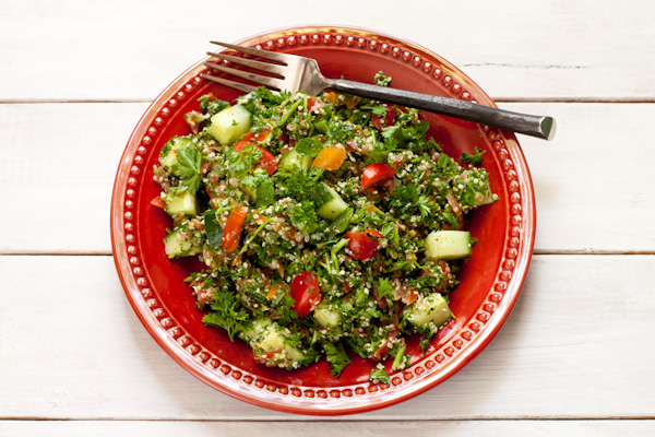 Mediterranean Parsley Salad from Migraine Relief Recipes | Vegan, gluten-free, paleo, grain-free, migraine-friendly