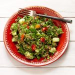 Mediterranean Parsley Salad from Migraine Relief Recipes | Vegan, gluten-free, paleo, grain-free, migraine-friendly