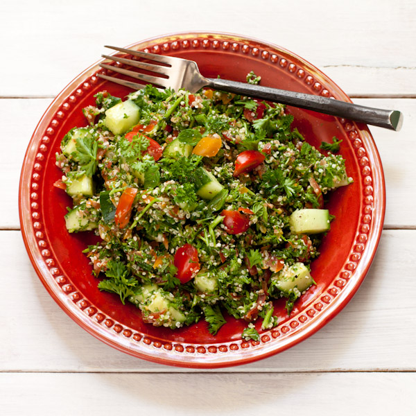 Tabouli Salad / Mediterranean Parsley Salad {paleo}