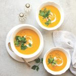 Roasted Carrot Bisque from Eat Dairy Free—The Cookbook