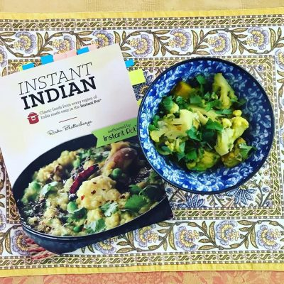 Instant Indian cookbook by Rinku Bhattacharya