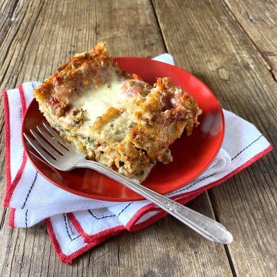 Cupid lasagna | Spinach lasagna