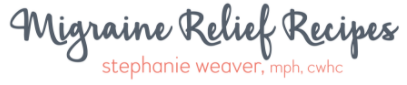 Migraine Relief Recipes Logo